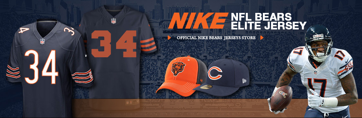 purchase cheap 774c6 290be Official Chicago Bears Cheap Nike NFL Store